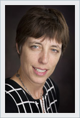 A photo of one of the DNA partners, Amy Stevens.