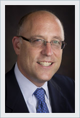 A photo of one of the DNA partners, David Weinstein.