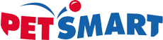 Red and blue Petsmart logo.