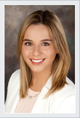A photo of Communications Specialist Samantha Covello.
